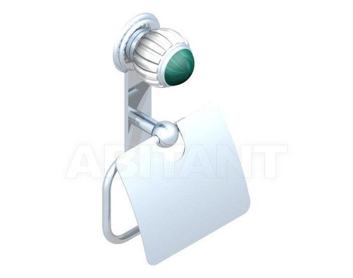 Купить Держатель для туалетной бумаги THG Bathroom A8M.538AC Vogue Malachite