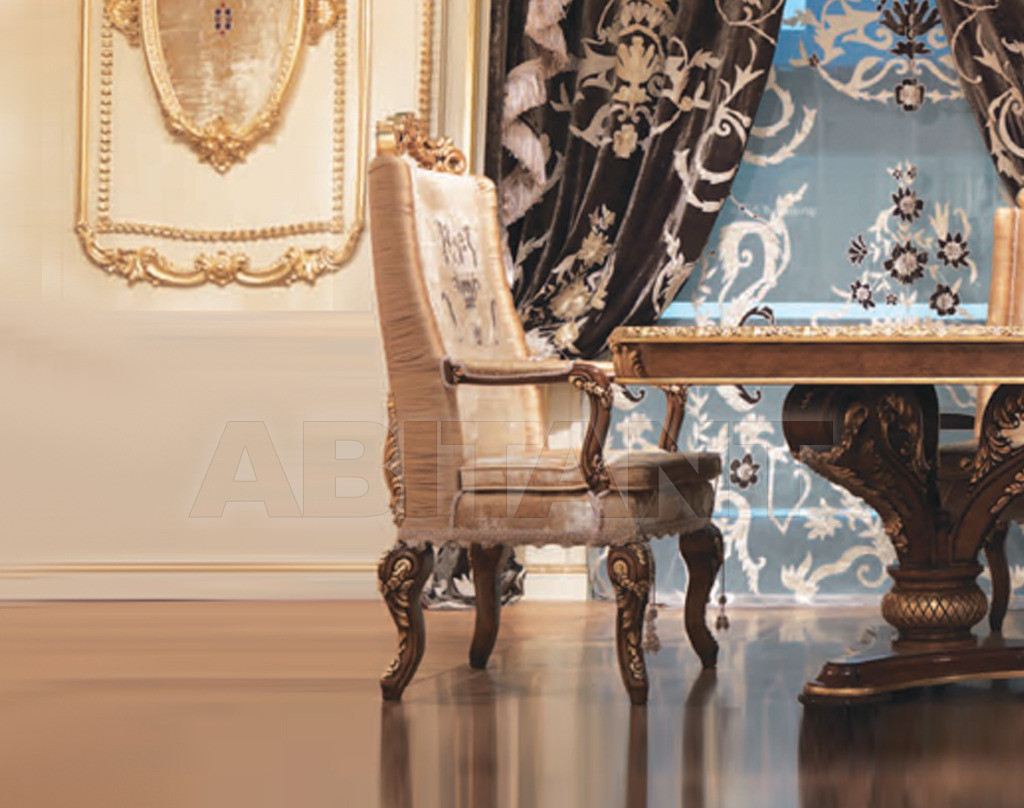 Купить Стул с подлокотниками Hermitage LaContessina Mobili R8071