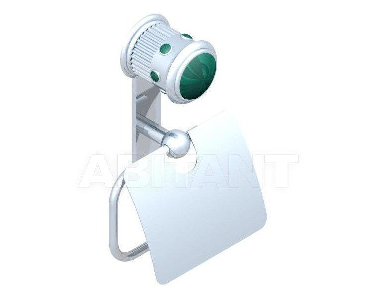 Купить Держатель для туалетной бумаги THG Bathroom U7A.538AC Trocadéro Malachite
