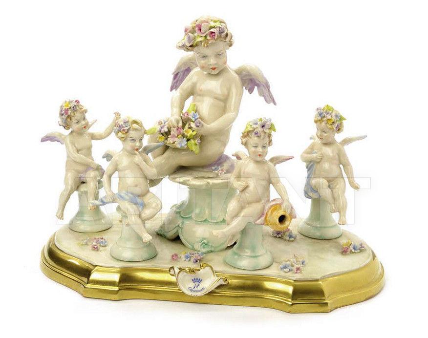 Купить Статуэтка CLOUD WITH FLOWERS Villari Capodimonte T.01800-002