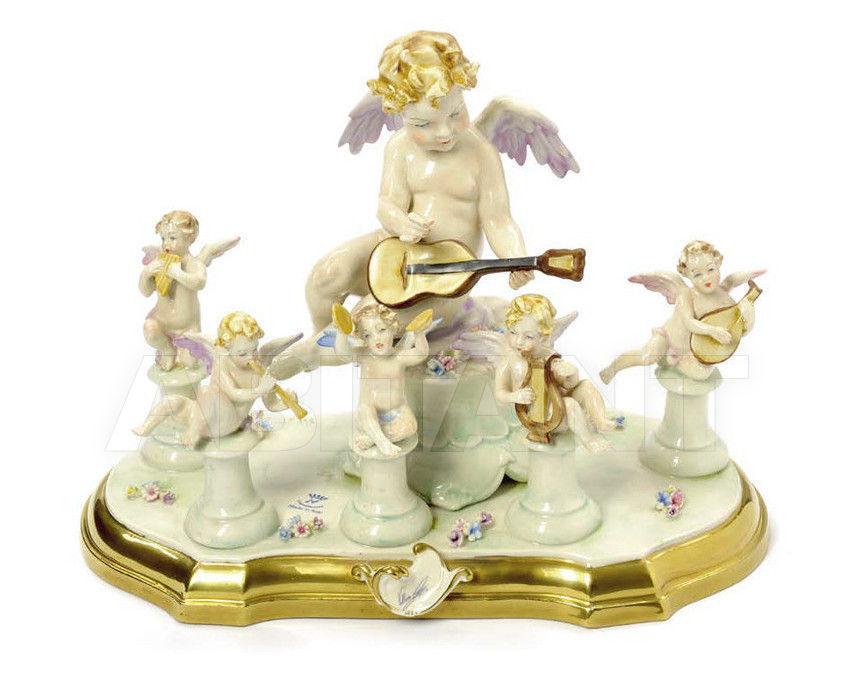 Купить Статуэтка LITTLE CONCERT (5 ANGELS) Villari Capodimonte T.01801-002