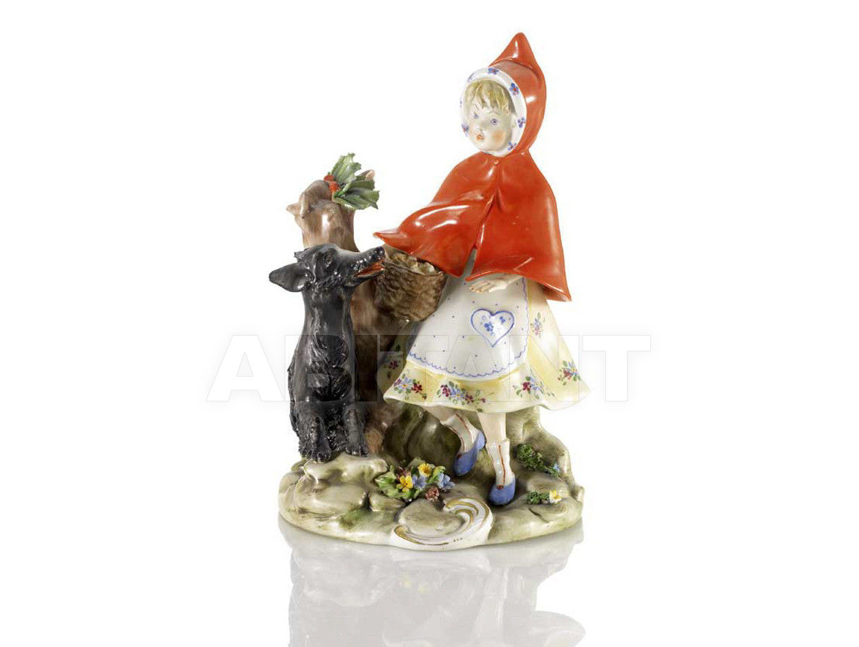 Купить Статуэтка  LITTLE RED RIDING HOOD Villari Capodimonte 0000554-002