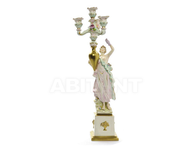 Купить Подсвечник BACCHANTE CANDLESTICK Villari Capodimonte T.01776-002