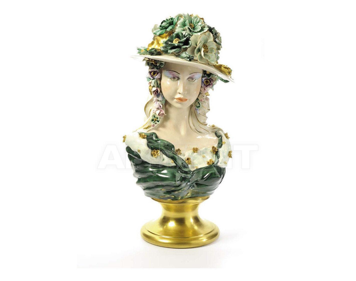 Купить Статуэтка BARBY Villari Capodimonte 0000947-005 Green