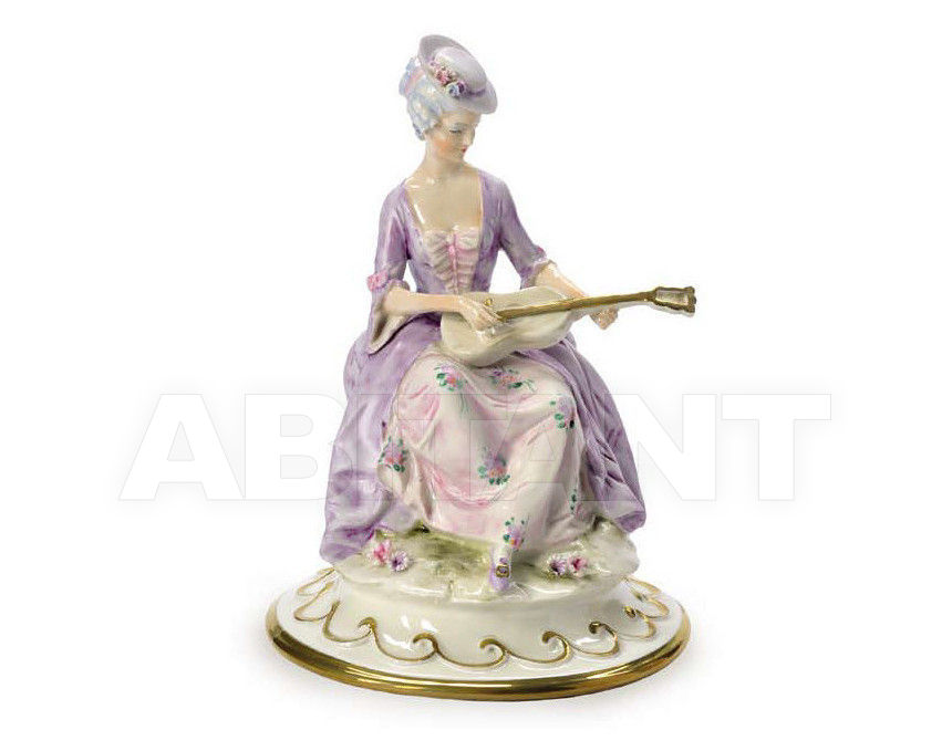 Купить Статуэтка GUITAR PLAYER Villari Capodimonte T.01174-002