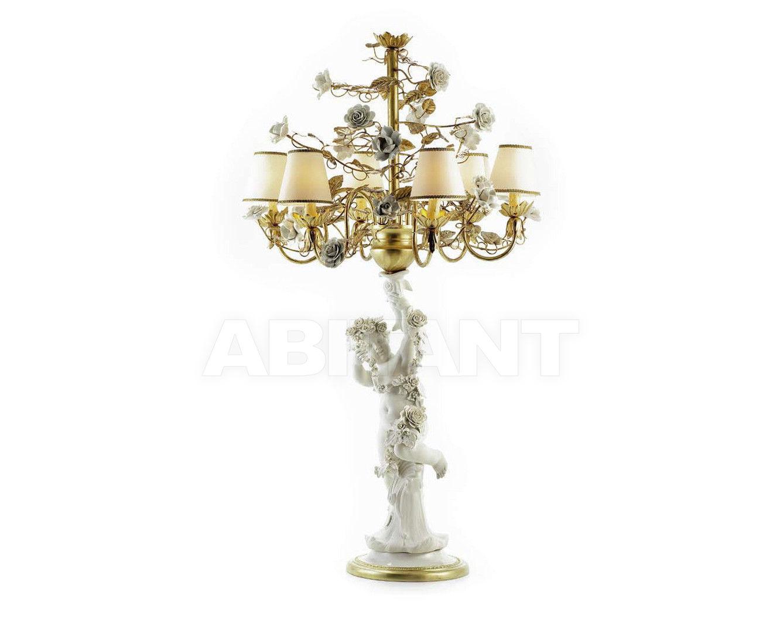 Купить Лампа настольная ANGEL FLAMBEAU Villari Capodimonte 4000138-007