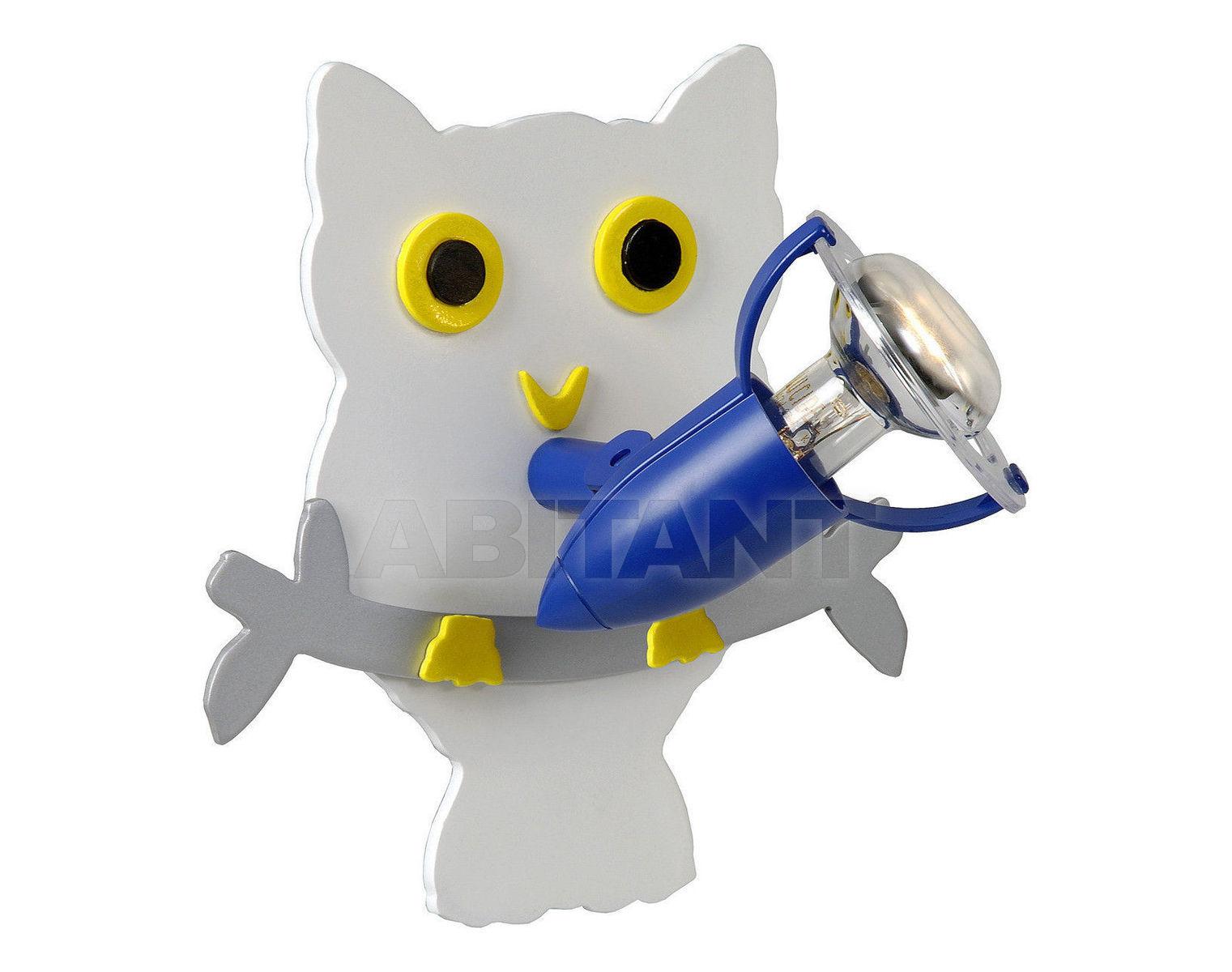 Купить Светильник для детской OWL Lucide  Wall & Ceiling Lights 11270/01/31