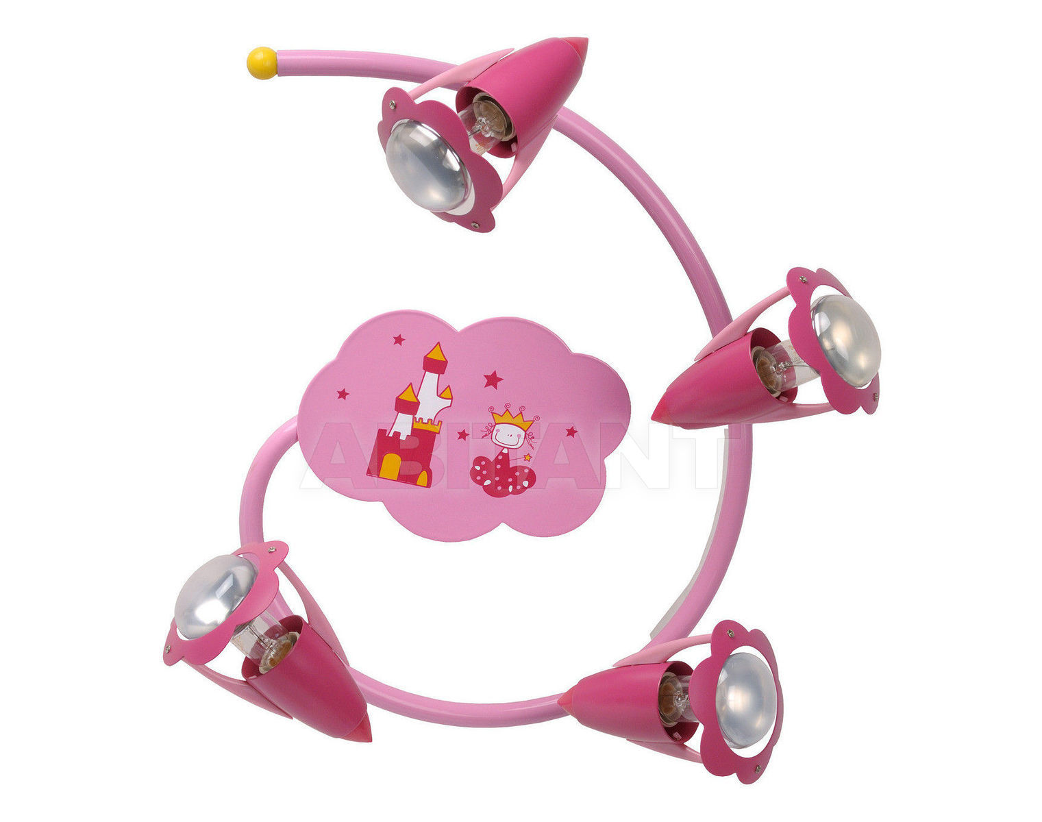 Купить Светильник для детской PINKY Lucide  Wall & Ceiling Lights 77173/34/66