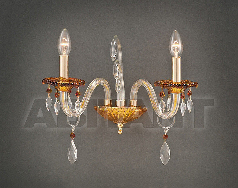 Купить Светильник настенный Due Effe lampadari Applique Elisa A-2/L 2