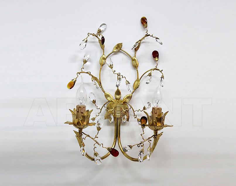Купить Светильник настенный Due Effe lampadari Applique Sissi A-2/L