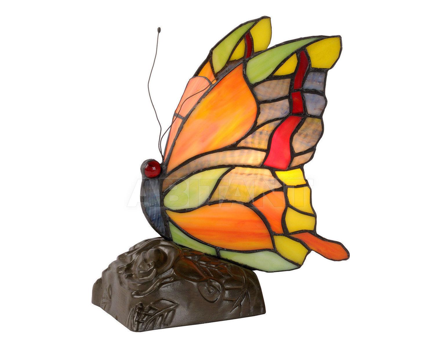 Купить Лампа настольная BUTTERFLY Lucide  Tiffany 15505/01/53
