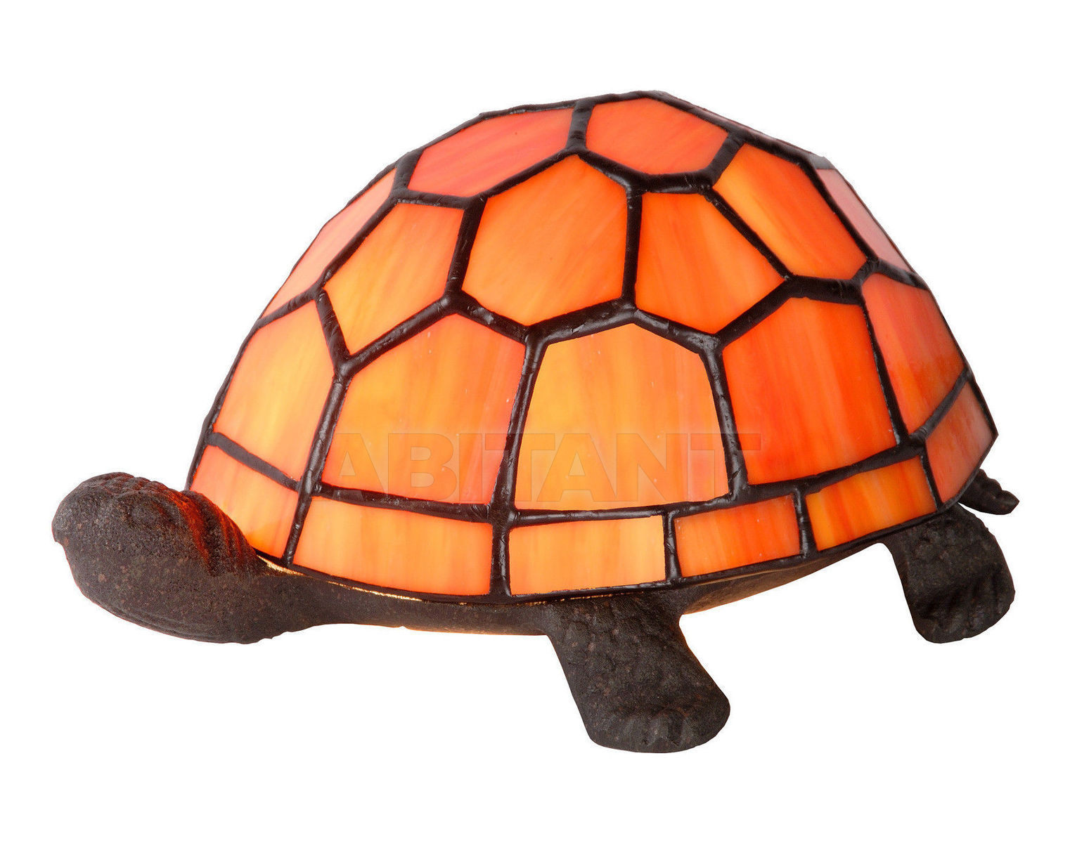 Купить Лампа настольная TURTLE Lucide  Tiffany 15502/01/53
