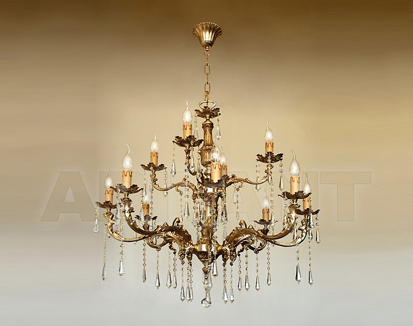 Купить Люстра Due Effe lampadari Lampadari 4000/8+4L con SW