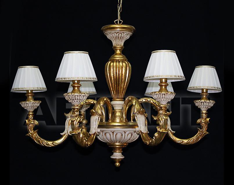Купить Люстра Due Effe lampadari Lampadari Bacelli/6L con paralumi