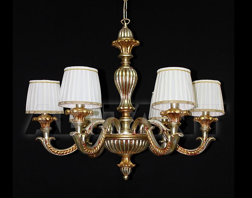 Купить Люстра Due Effe lampadari Lampadari Dantes/6L con paralumi