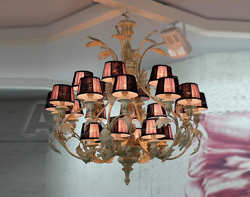 Купить Люстра Due Effe lampadari Lampadari Teseo/24L con paralumi