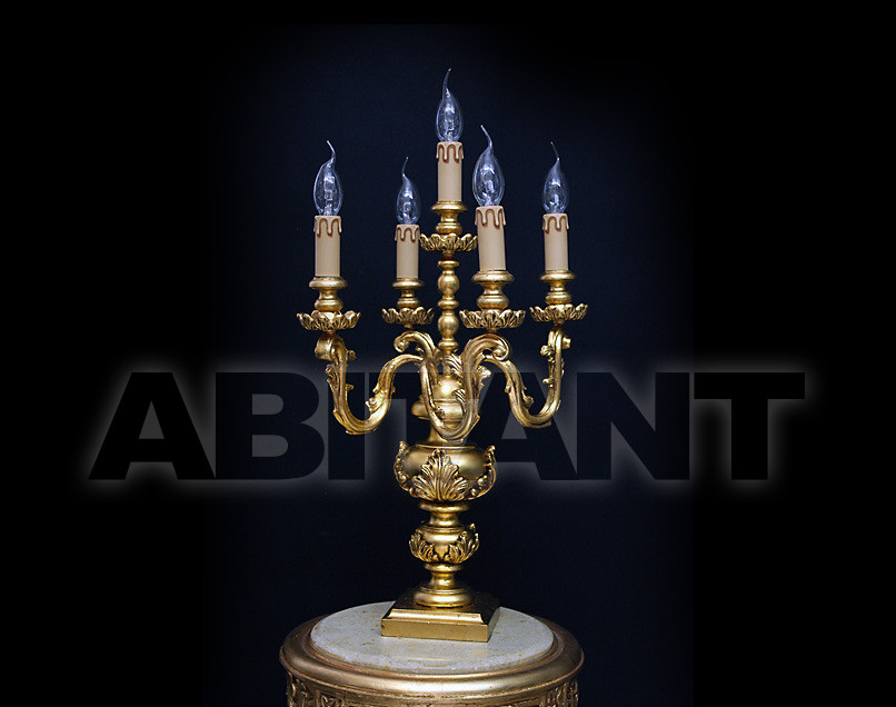 Купить Лампа настольная Due Effe lampadari Lumi 3000 Flambo 5/L