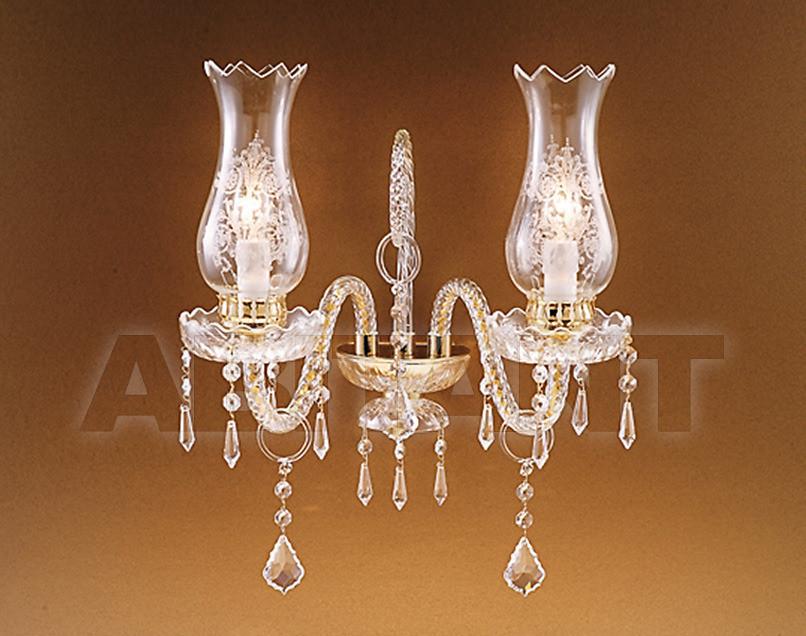 Купить Светильник настенный Due Effe lampadari Applique ANTHEA A/2
