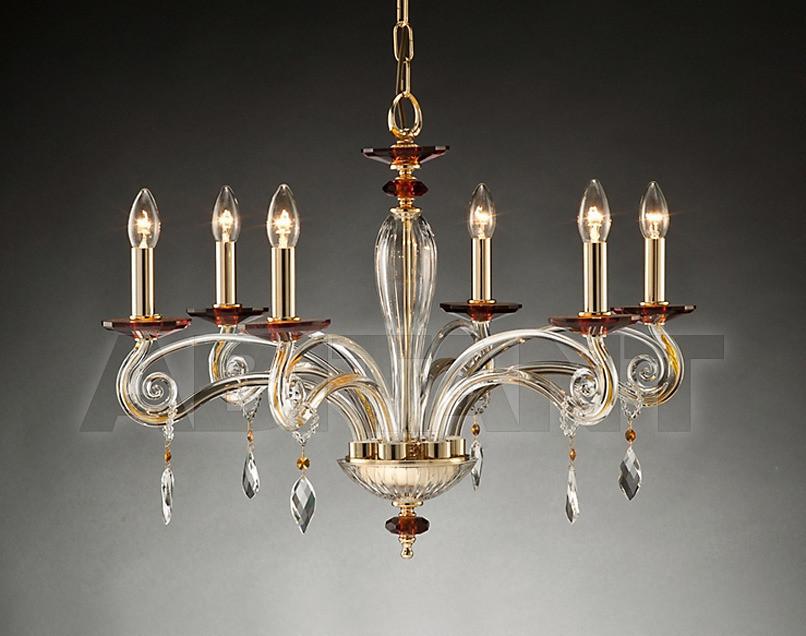Купить Люстра Due Effe lampadari Lampadari CARLA 6/L ORO