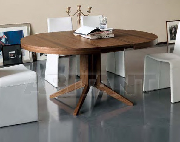 Купить Стол обеденный Porada New Work Bryant tavolo ø120 allungabile
