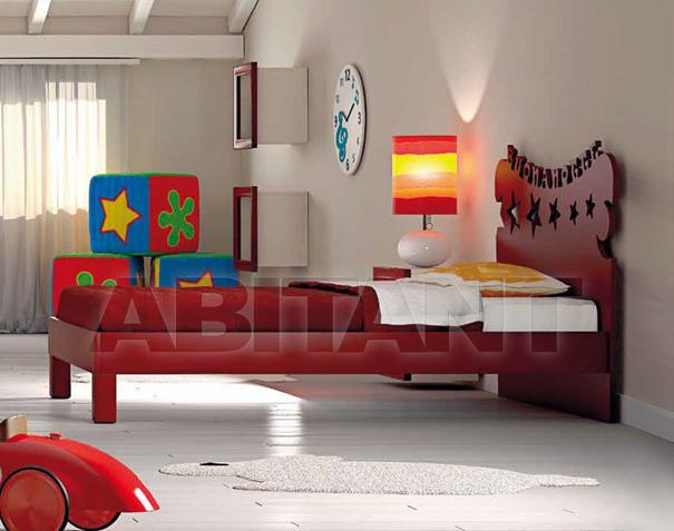Купить Кровать детская BL Mobili I Colori Dei Sogni 1239
