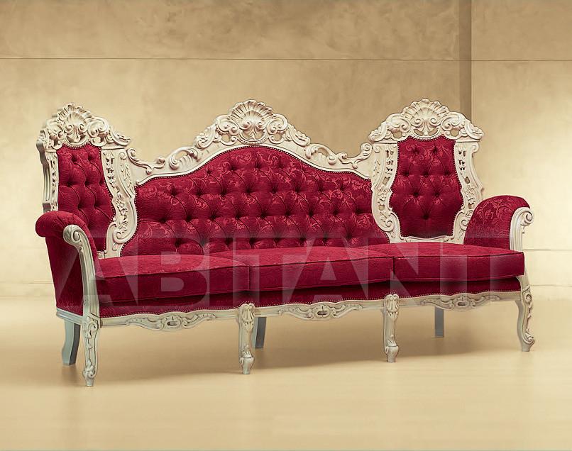 Купить Диван Luna Morello Gianpaolo Red 555/K DIVANO 3 P. LUNA
