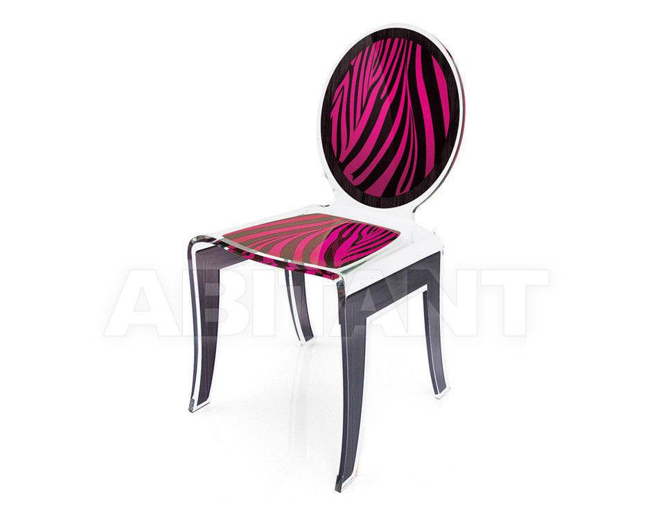 Купить Стул Acrila Wild Wild Chair Zebra Pink