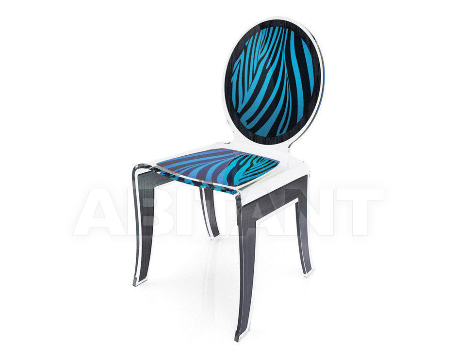 Купить Стул Acrila Wild Wild Chair Zebra Blue