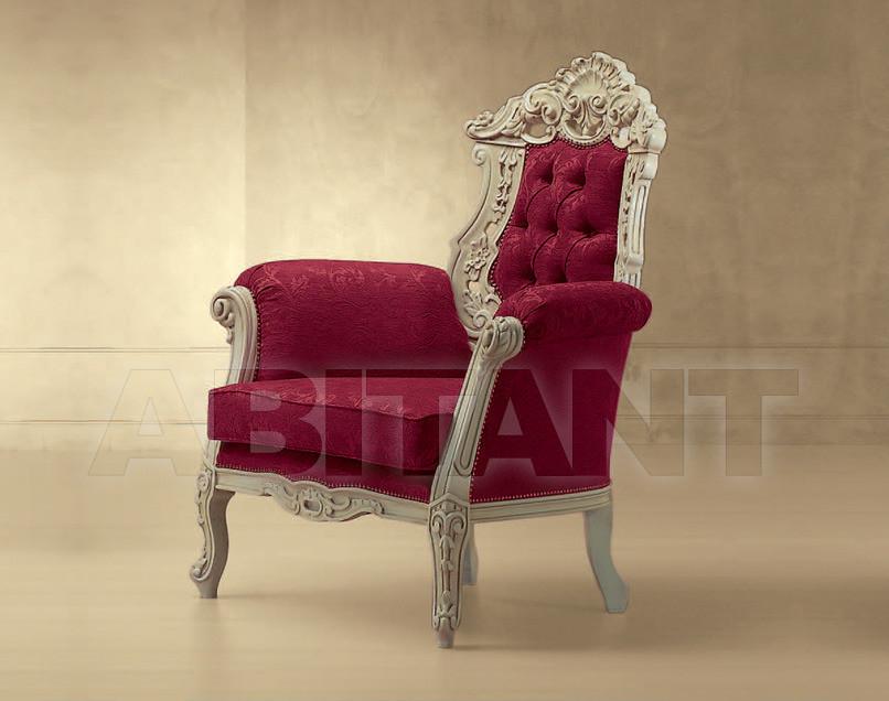 Купить Кресло Luna Morello Gianpaolo Red 555/K POLTRONA LUNA