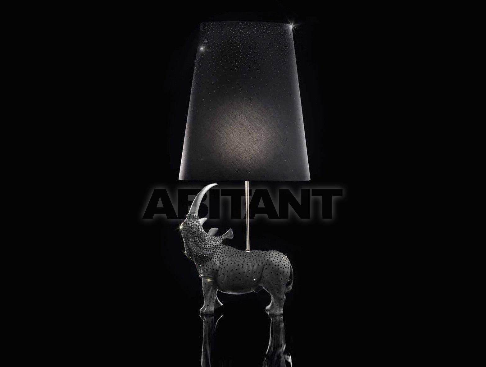 Купить Лампа настольная BLACK RHINO LAMP Villari Limited Edition 14.0432-807