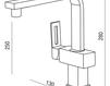 Смеситель для раковины Griferias Galindo BaÑo 5249600 Современный / Скандинавский / Модерн
