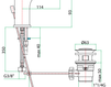 Смеситель для раковины Fiore Aqua 75 CR 6520 Современный / Скандинавский / Модерн