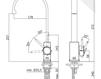 Смеситель для раковины Rubinetteria Paffoni L E V E L LEA 880 Современный / Скандинавский / Модерн