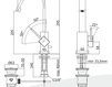 Смеситель для раковины Rubinetteria Paffoni L E V E L LEA 878 Современный / Скандинавский / Модерн