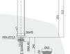 Смеситель для раковины Rubinetteria Paffoni L E V E L LES 081 Современный / Скандинавский / Модерн
