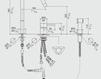 Смеситель для кухни MGS Cucina 0132F2238B F2 R SP Современный / Скандинавский / Модерн