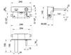 Смеситель для раковины Gessi Spa Bathroom Collection 2012 20689 031 Хром Современный / Скандинавский / Модерн
