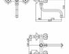 Смеситель для раковины Cezares Rubinetteria LVP___100400 Современный / Скандинавский / Модерн