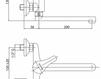 Смеситель для раковины Cezares Rubinetteria LVPMST200600 Современный / Скандинавский / Модерн