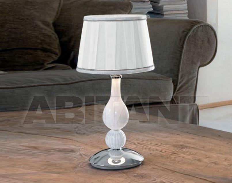 Купить Лампа настольная Sylcom s.r.l. Segno 1422/20 SP BL.CR