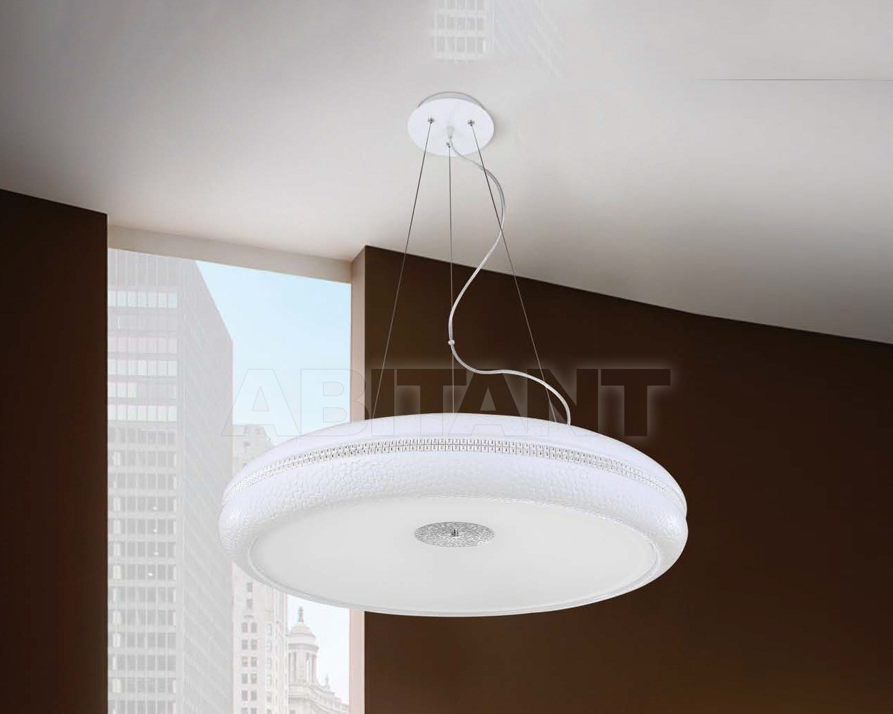 Купить Светильник Crystallux Crystallux 2014 DISCO SP65 BIANCO
