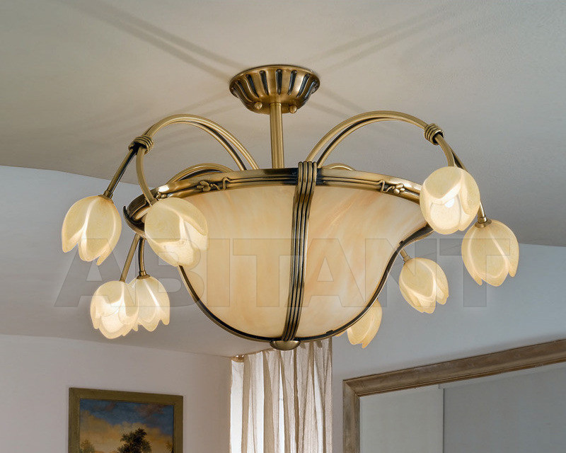 Купить Люстра Possoni Illuminazione Grand Hotel 1394/8+4SF