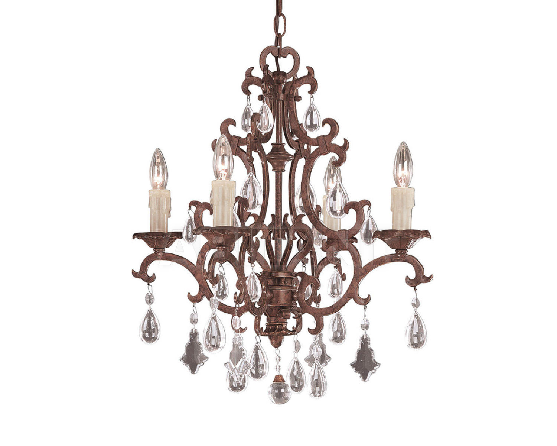 Купить Люстра Savoy House Europe  Forged Iron 1-1400-4-56