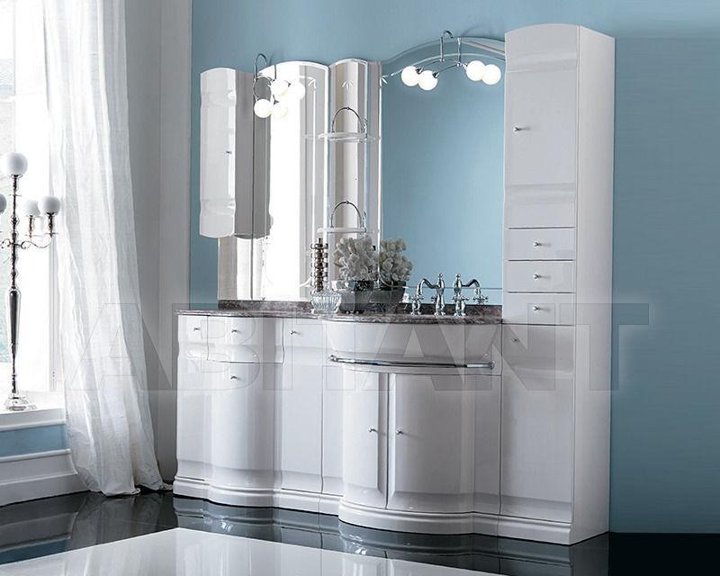 Купить Композиция Eurodesign Bagno Hilton COMP. 11 Bianco/cromo