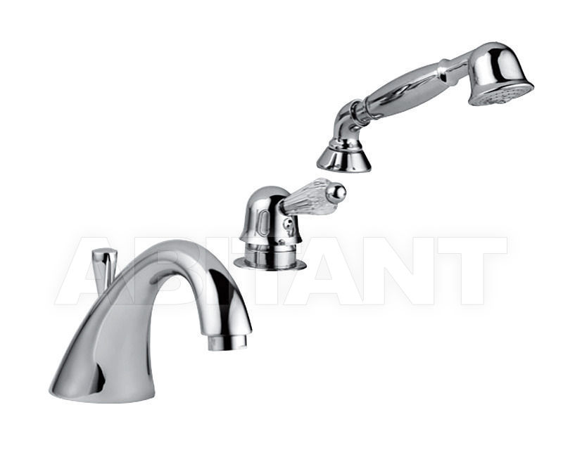 Купить Смеситель для ванны Giulini Harmony Crystal 9565BD/S