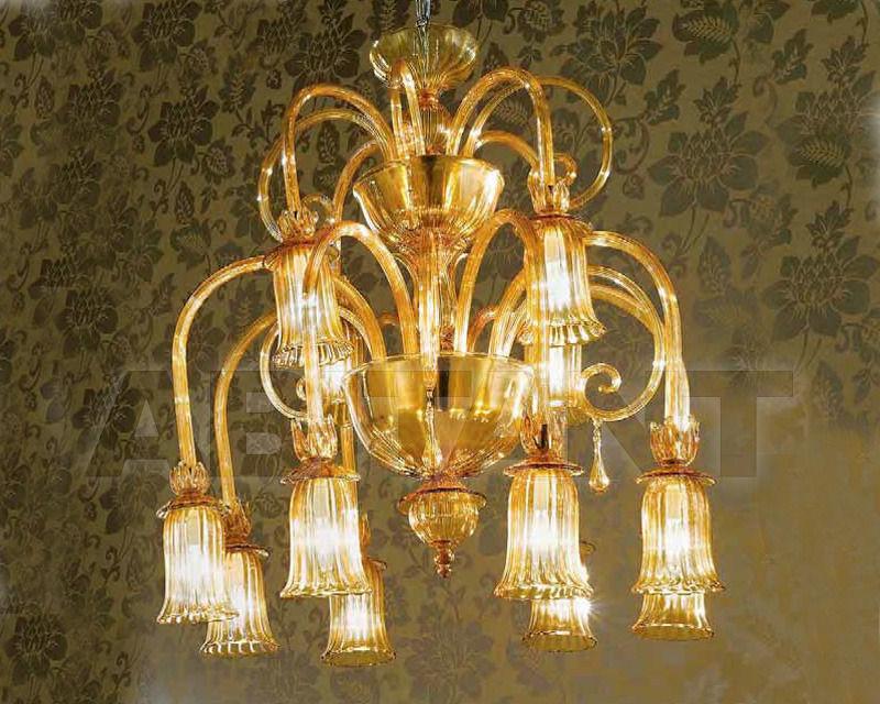 Купить Люстра Arte Veneziana Illuminazione Art Deco' LD140/8+4