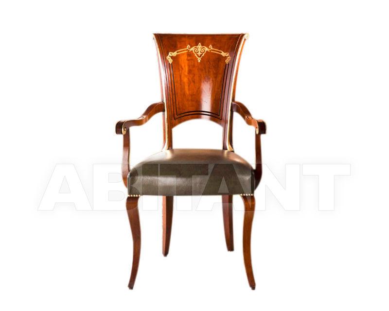 Купить Стул с подлокотниками BS Chairs S.r.l. Raffaello 3309/A 2