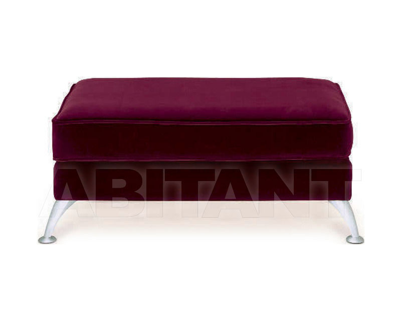 Купить Пуф Home Spirit Silver Ambre Footstool XL
