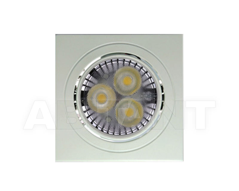 Купить Встраиваемый светильник STA85 Q Pura Luce   Incasso 31248