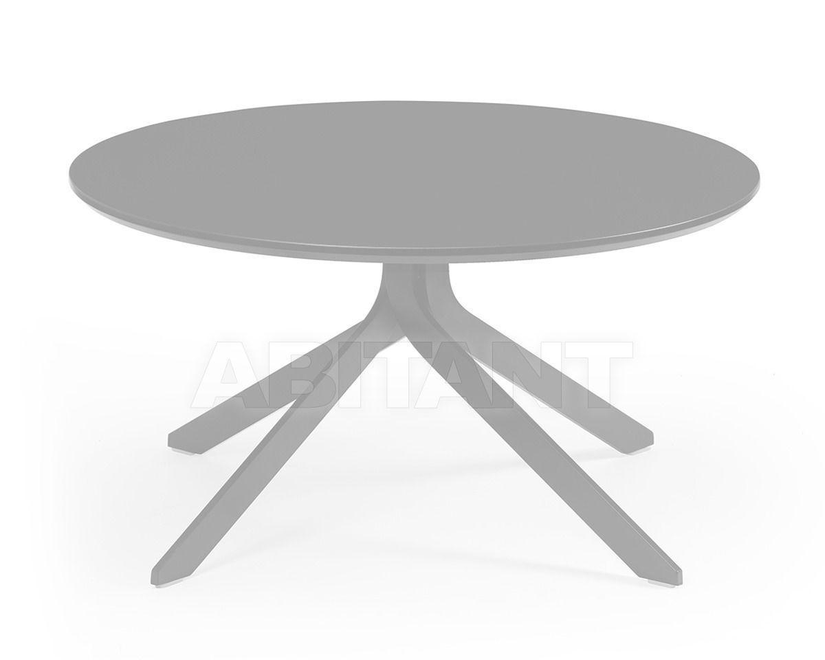 Купить Столик журнальный TONIC METAL Rossin Srl Contract TON9-HO-075-1 white